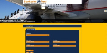 Santorini Taxi Bookings